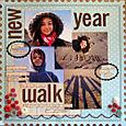 New Year walk